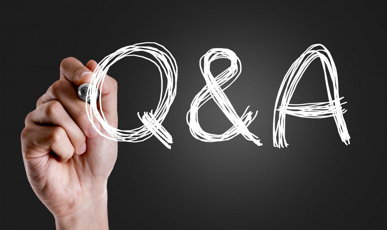 【Q&A】ブログ上で回答OKな質問、相談募集中です!