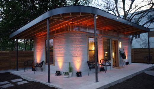 タイニーハウス、コンテナ、プレハブ小屋よりも圧倒的に安い!42万円の費用とわずか1日で家が建てられる3Dプリンターが登場!